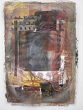 Navigating Awareness by Wen Redmond (Mixed-Media Wall Hanging)