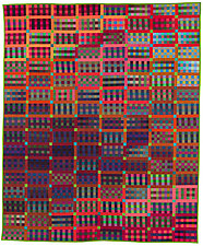 Gridlock 3 by Kent Williams (Fiber Wall Hanging)