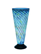 Ocean V-Lite by Joel and Candace  Bless (Art Glass Table Lamp)
