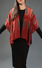 Dashed Jacket by Laura Hunter  (Silk Jacket)