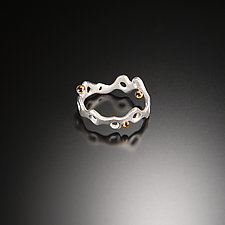 III Recollection Ring by Aleksandra Vali (Gold & Silver Ring)