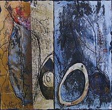 Forgotten Wings by Wen Redmond (Fiber Wall Hanging)