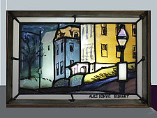 College Hill, Providence by Alice Benvie Gebhart (Art Glass Box)
