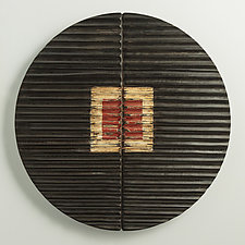 Continuation by Kipley Meyer (Wood Wall Sculpture)