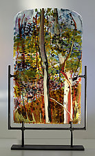 Concert of Color by Alice Benvie Gebhart (Art Glass Sculpture)
