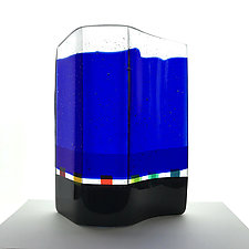 Infinity by Sabine  Snykers (Art Glass Sculpture)