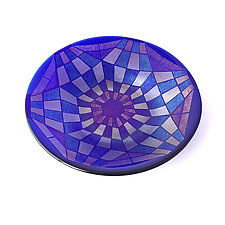 Introspection by Sabine  Snykers (Art Glass Bowl)