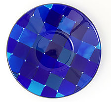 Floating Squares by Sabine  Snykers (Art Glass Bowl)