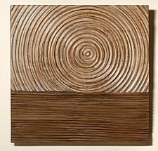 Rise by Kipley Meyer (Wood Wall Sculpture)