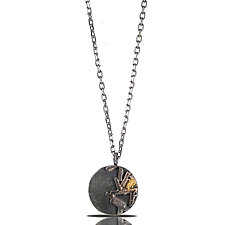 Astro Coin Necklace by Lori Gottlieb (Gold & Silver Necklace)