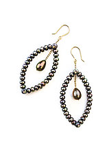Pod Earrings by Estyn Hulbert (Pearl Earrings)