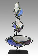 Hoodoo by Karen Ehart (Art Glass Sculpture)