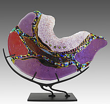 Nautilus by Karen Ehart (Art Glass Sculpture)