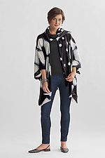 Tortoise Shibori Jacket by Laura Hunter (Wool Jacket)