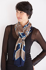 Flat Silk Petal Scarf by Laura Hunter (Silk Scarf)