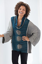 Ellipse Shibori Top by Laura Hunter  (Knit Top)