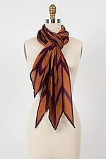 Shibori Pleated Scarf by Laura Hunter (Silk Scarf)