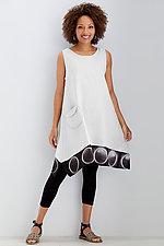 Ellipse Linen Dress by Laura Hunter (Linen Dress)