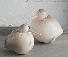 Sandpipers by Chris  Stiles (Ceramic Sculpture)
