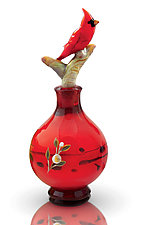 Bird Perfume Bottles by Chris Pantos (Art Glass Perfume Bottles)
