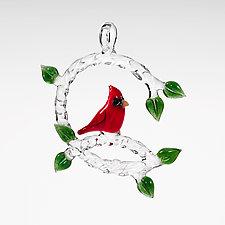 Cardinal by Chris Pantos (Art Glass Ornament)