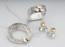 Autumn Petals Series by Chi Cheng Lee (Gold & Silver Jewelry)