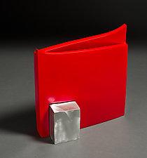 Red Guy by Jeffrey Brown (Metal Vessel)