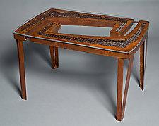 Mesh Table by Jeffrey Brown (Metal Coffee Table)