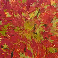 Transition into Fall by Cassandra Tondro (Acrylic Painting)