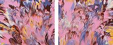 On Angel Wings by Cassandra Tondro (Acrylic Painting)