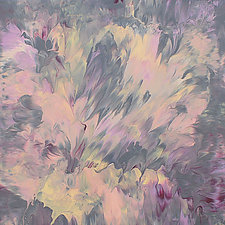 Inner Joy, an Original Expansive Painting by Cassandra Tondro (Acrylic Painting)