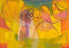 Show Me the Book of Love by Heidi Daub (Acrylic Painting)