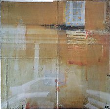 Edges Between by Wen Redmond (Fiber Wall Hanging)
