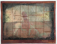 Uyotsahi Nanahia Nahna Gesa by Wen Redmond (Fiber Wall Hanging)