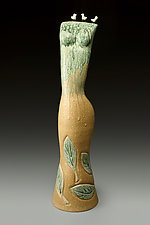 Birds of a Feather by Cathy Broski (Ceramic Sculpture)