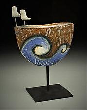 Travelers II by Cathy Broski (Ceramic Sculpture)