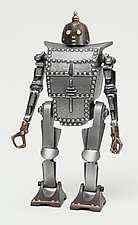 Bob the Robot Coin Bank by Scott Nelles (Metal Bank)
