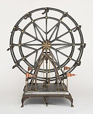 Ferris Wheel by Scott Nelles (Metal Sculpture)