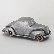 Diner and Retro Cars by Scott Nelles (Metal Sculpture)