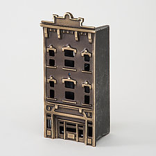 Store Bank by Scott Nelles (Metal Sculpture)