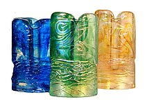 Gilly Vase by Joel and Candace  Bless (Art Glass Vase)