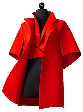 Peel in Red by Teresa Maria Widuch  (Wool Jacket)