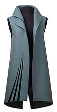 Feather by Teresa Maria Widuch  (Wool Vest)