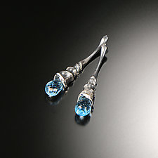 Rain of Colorful Dreams Earrings by Aleksandra Vali (Silver & Stone Earrings)