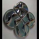Restless Waves by Sara Baker (Ceramic Wall Sculpture)
