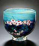 Landscape Series Bowl by Shawn Messenger (Art Glass Bowl)