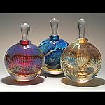 Silver Perfume Bottles by Robert Burch (Art Glass Perfume Bottles)