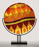 Serpentine Summer by Lynn Latimer (Art Glass Sculpture)