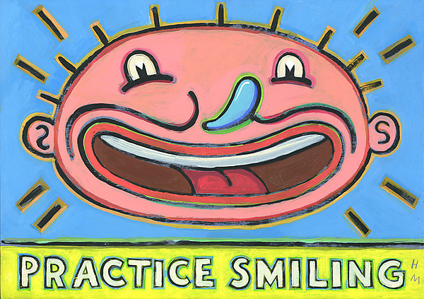 Practice Smiling