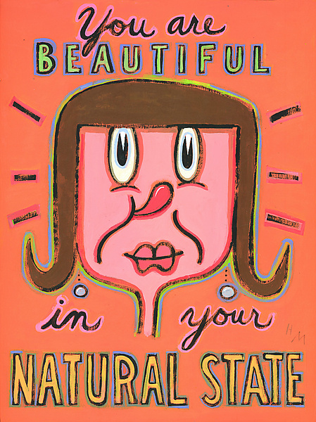 You are Beautiful in Your Natural State